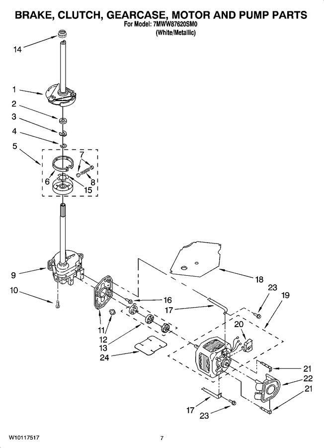 Diagram for 7MWW87620SM0