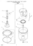 Diagram for 03 - Agitator, Basket & Tub