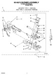 Diagram for 04 - 8318273 Burner Assembly