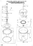 Diagram for 04 - Agitator, Basket And Tub