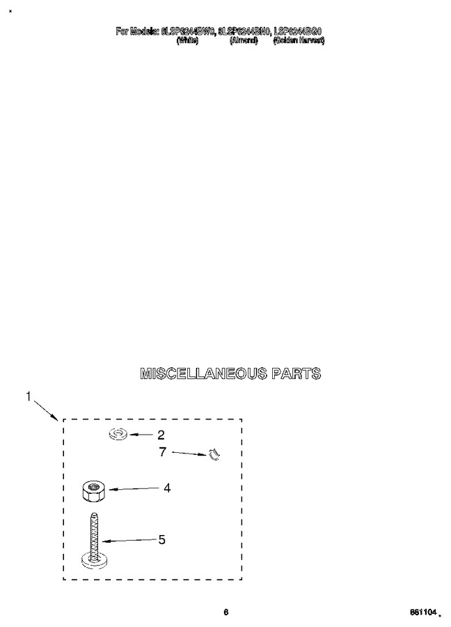 Diagram for 8LSP6244BG0
