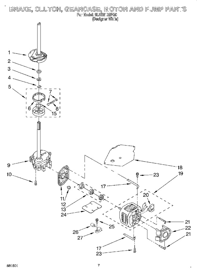 Diagram for 8LSR6132FQ0