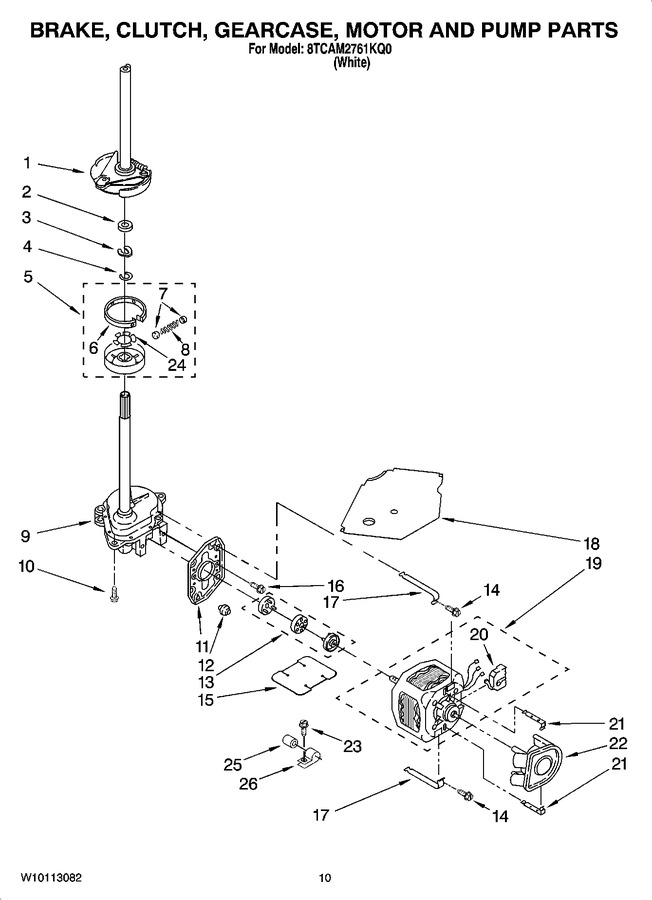 Diagram for 8TCAM2761KQ0
