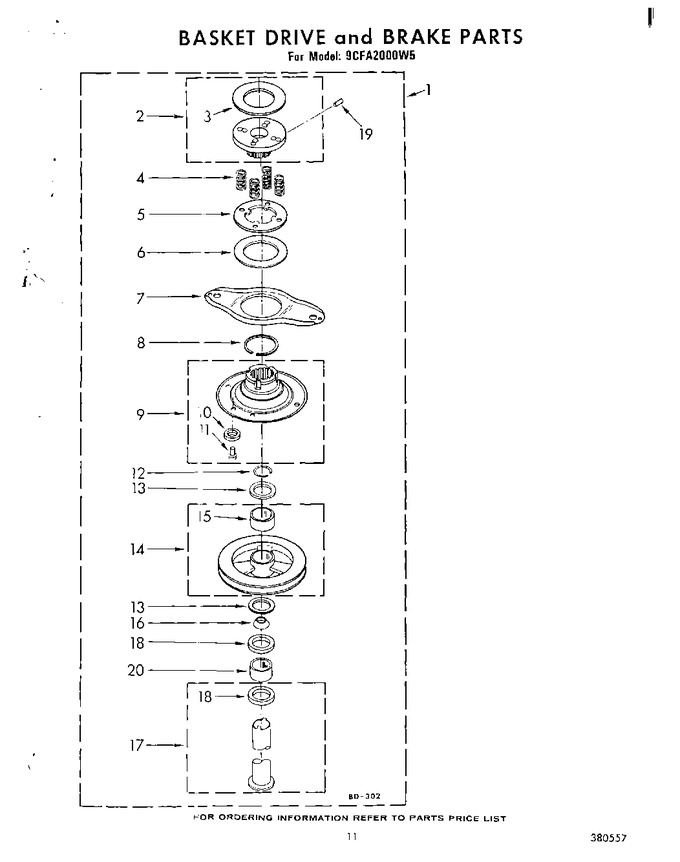 Diagram for 9CFA2000W5