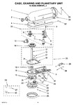 Diagram for 02 - Case, Gearing And Planetary Unit