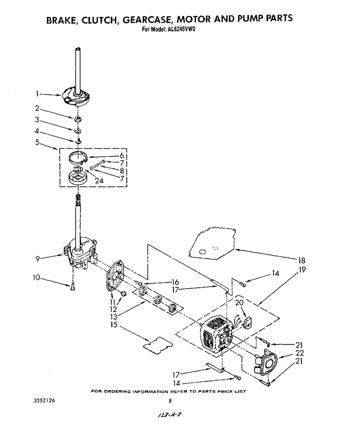 Diagram for AL6245VW0
