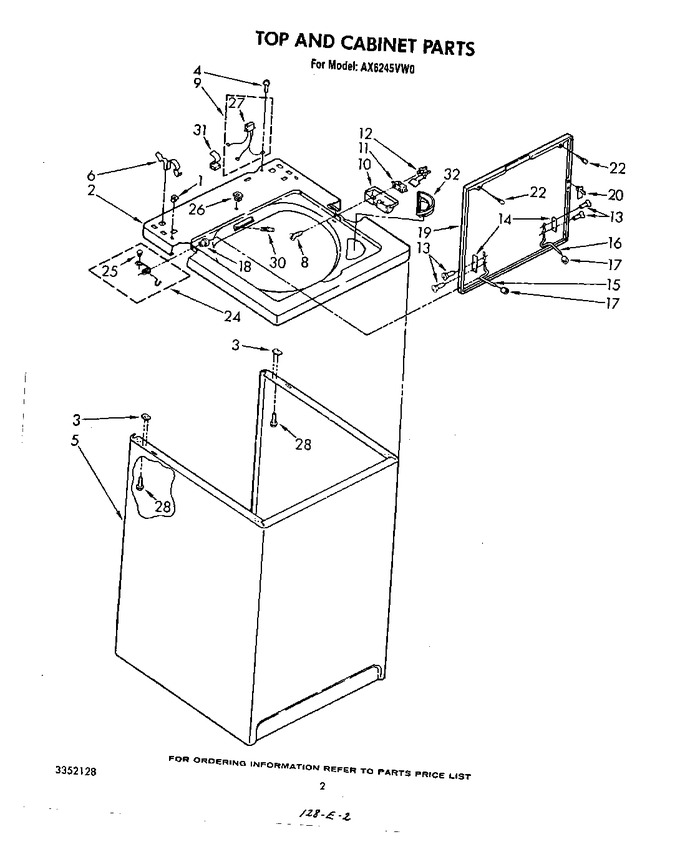 Diagram for AX6245VG0