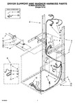 Diagram for 05 - Dryer Support And Washer Harness Part