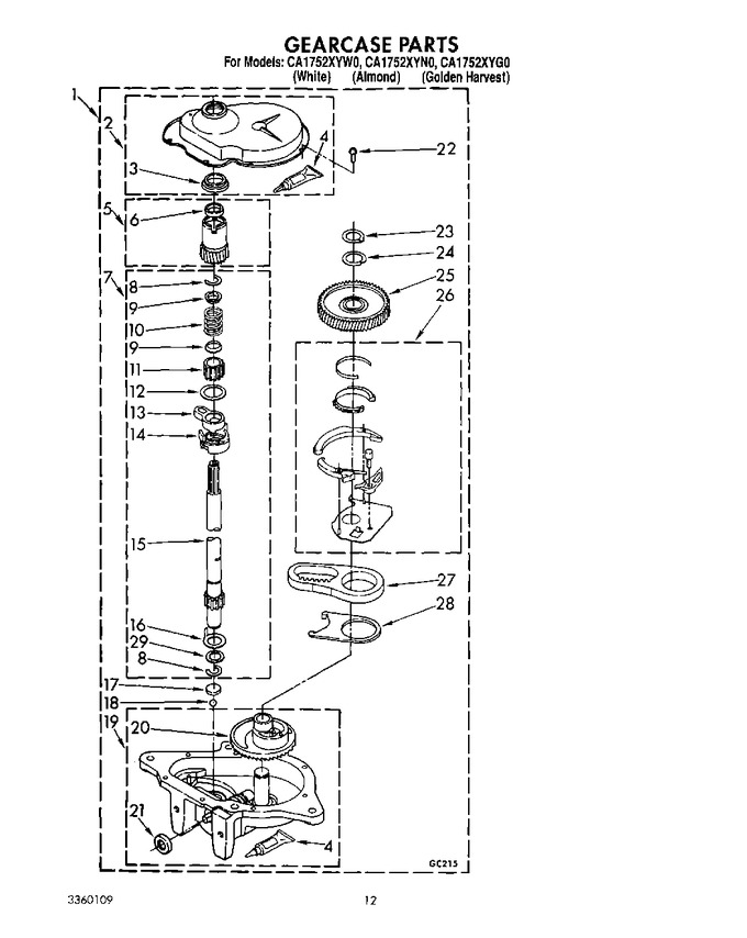 Diagram for CA1752XYW0