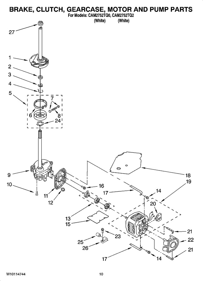 Diagram for CAM2752TQ0