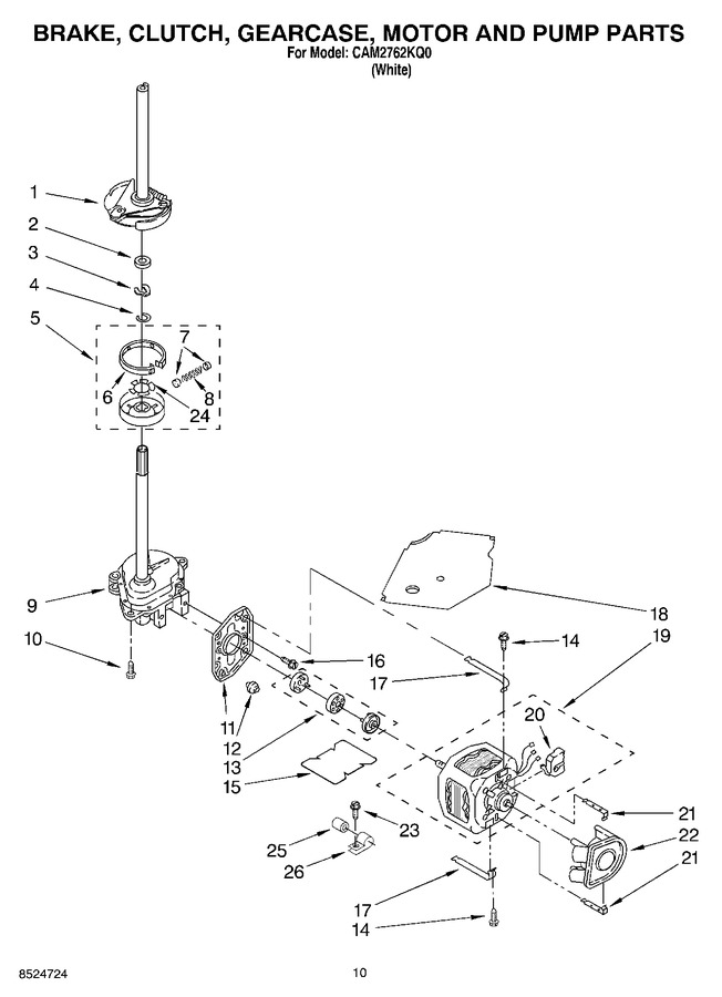 Diagram for CAM2762KQ0