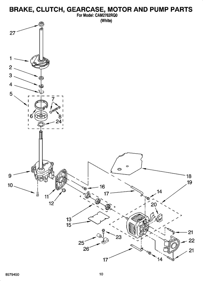Diagram for CAM2762RQ0