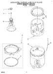 Diagram for 05 - Agitator, Basket And Tub