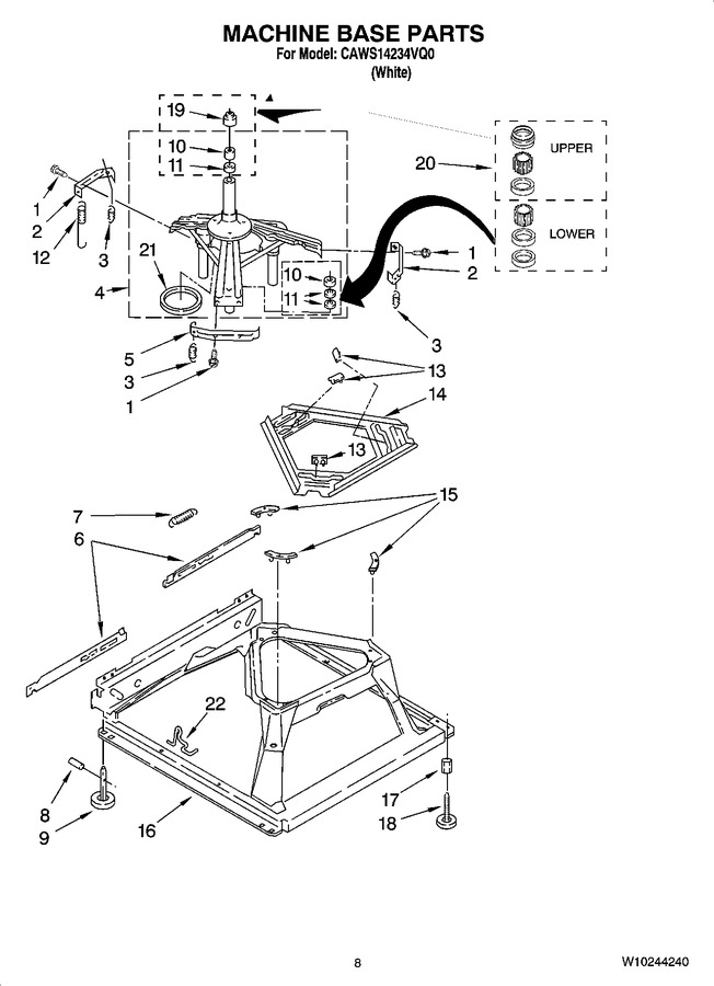 Diagram for CAWS14234VQ0