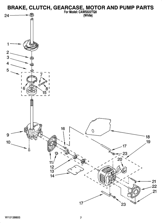 Diagram for CAWS522TQ0