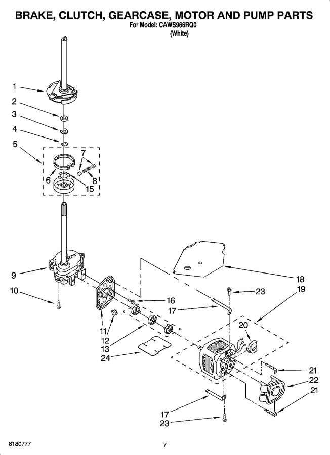 Diagram for CAWS966RQ0