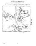 Diagram for 05 - 694670 Burner Assembly