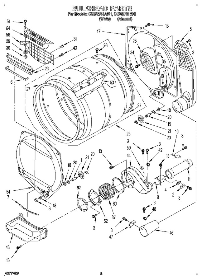Diagram for CGW2761AW1