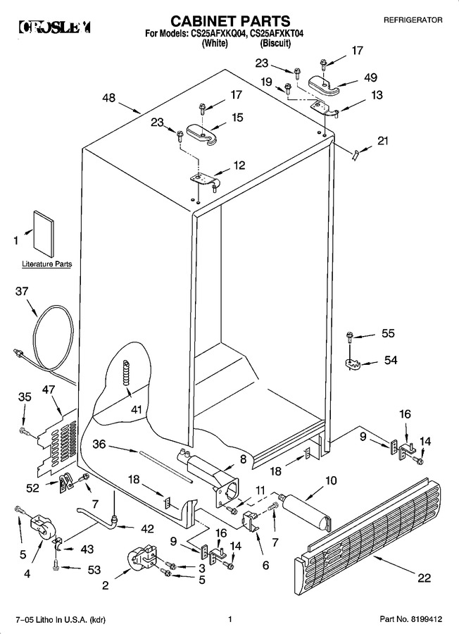 Diagram for CS25AFXKQ04