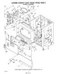 Diagram for 02 - Lower Cabinet And Front Panel