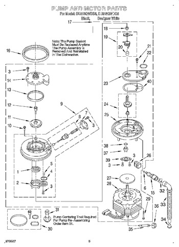Diagram for DU915QWDB5