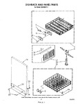 Diagram for 05 - Dish Rack And Panel