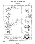Diagram for 05 - 303876 Pump And Motor