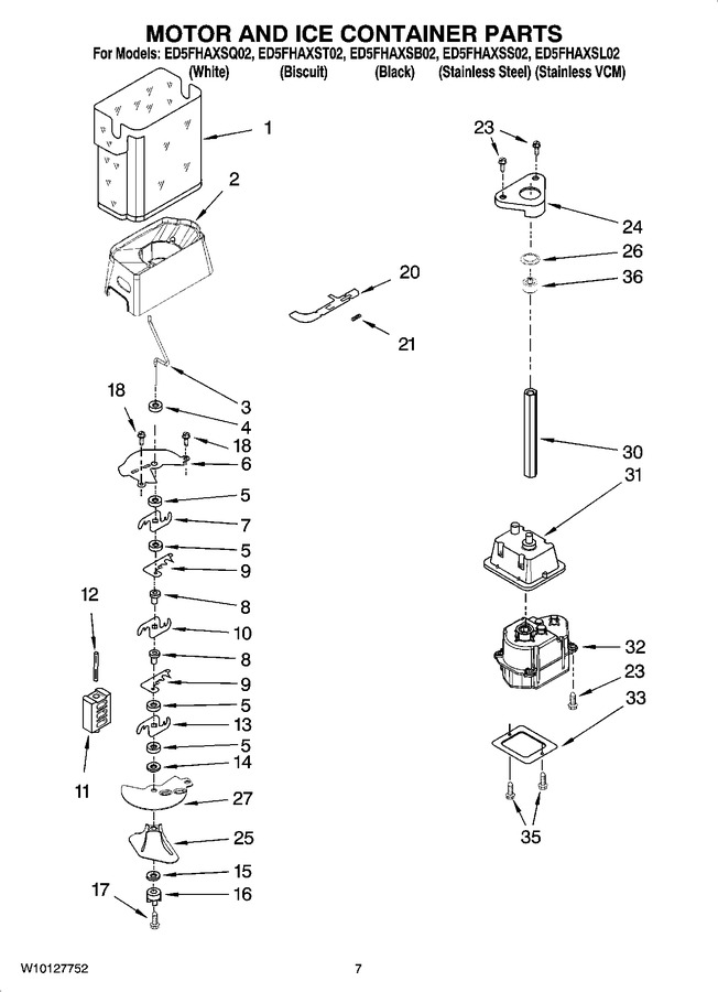Diagram for ED5FHAXST02
