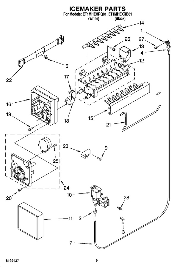 Diagram for ET1MHEXRQ01