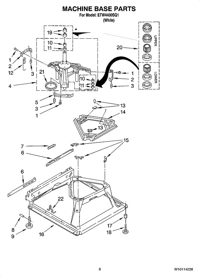 Diagram for ETW4400SQ1