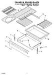 Diagram for 05 - Drawer & Broiler Parts, Optional Parts