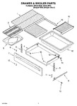 Diagram for 05 - Drawer & Broiler Parts, Miscellaneous Parts