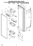 Diagram for 06 - Refrigerator Door Par