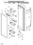 Diagram for 06 - Refrigerator Door Part