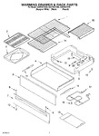 Diagram for 05 - Warming Drawer & Rack Parts