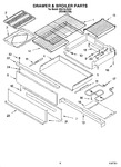 Diagram for 06 - Drawer & Broiler Parts, Miscellaneous Parts
