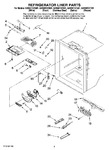 Diagram for 03 - Refrigerator Liner Parts