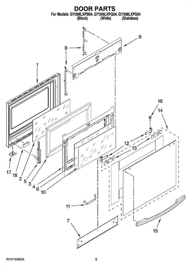 Diagram for GY398LXPQ04