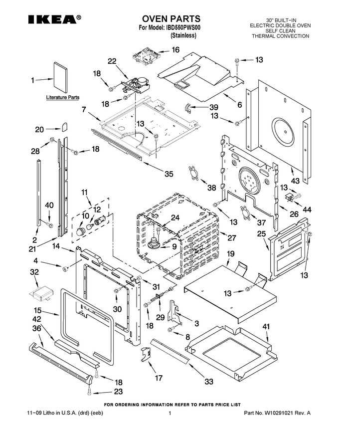 Diagram for IBD550PWS00