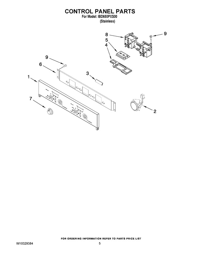 Diagram for IBD650PXS00