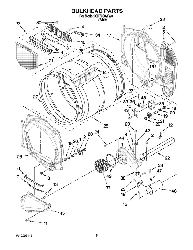 Diagram for IGD7300WW0