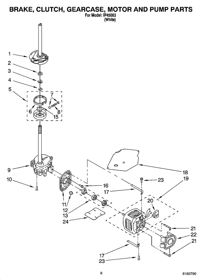 Diagram for IP45003
