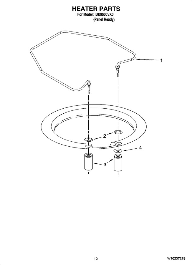 Diagram for IUD9500VX0