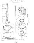 Diagram for 06 - Agitator, Basket And Tub