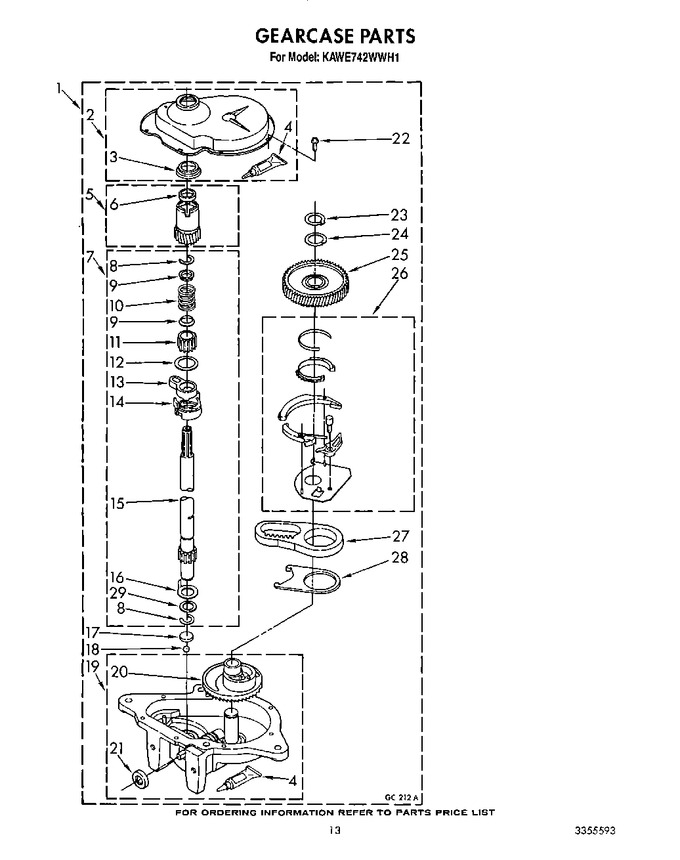 Diagram for KAWE742WWH1