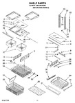 Diagram for 06 - Shelf Parts