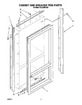 Diagram for 02 - Cabinet And Breaker Trim