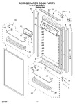 Diagram for 07 - Refrigerator Door