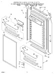 Diagram for 08 - Refrigerator Door