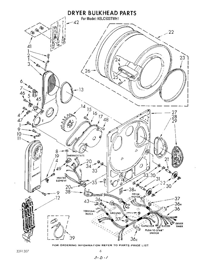 Diagram for KELC500TWH1